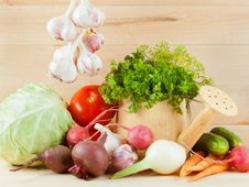 Free Different Fresh Vegetables Stock Photos - 25759853