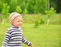 Free Happy Child Walking Stock Image - 25767121