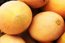 Free Yellow Melon Royalty Free Stock Images - 25763049