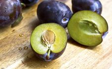 Free Plums Stock Image - 25767571