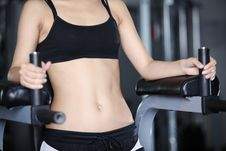 Free Exercises For A Stomach Stock Photo - 25768090
