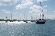 Free Boats In Harbor Stock Photo - 25768250