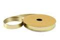 Free Gold Ribbon. Stock Photo - 25771550