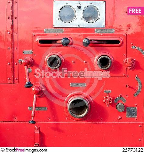 Valve control Stock Photo