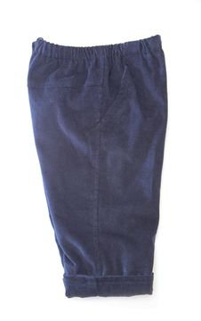 Free Baby Blue Trousers Royalty Free Stock Image - 25772406