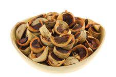 Free Sliced Sun-dried Betel Nuts &x28;Areca Nut&x29; Royalty Free Stock Photo - 25773075