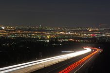 Free Lighttrails Stock Photography - 25775562