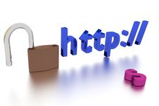 Free Http Insecure Connection Stock Image - 25775691