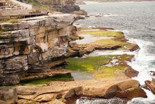 Free Mossy Coast, Sydney, Australia Stock Photo - 25777250