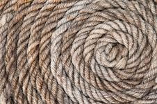 Free Old Rope Close Royalty Free Stock Photos - 25779598