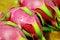 Free Dragon Fruit. Royalty Free Stock Image - 25772096