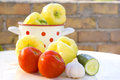 Free Preparation Of Fresh Vegetables Stock Images - 25780714