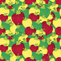 Free Apples Seamless Pattern Stock Image - 25783941