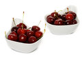 Free Fresh Ripe Perfect Sweet Cherry Royalty Free Stock Photography - 25785967