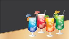 Free Cocktail Drinks Royalty Free Stock Photography - 25784557