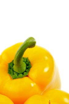 Free Yellow Bell Pepper Royalty Free Stock Image - 25785976