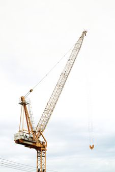 Free Hoist Crane Royalty Free Stock Images - 25786039