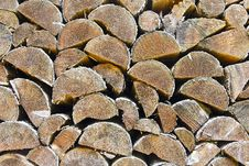 Firewood For Winter Stock Image