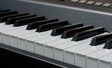 Free Electronic Piano Keyboard Stock Image - 25788201