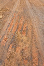 Free Surface Of Ground At The Road Wheels And Tracks. Royalty Free Stock Photography - 25798017
