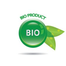 Free Perfect Badge Made For Your Bio Products Stock Image - 25790591