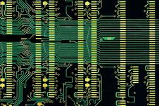 Free Dusty Old Circuit Diagram Stock Photography - 25791232