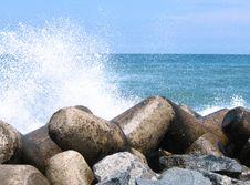 Free Breakwater Stock Photography - 25791762