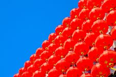 Free Red Lantern Royalty Free Stock Photos - 25795198