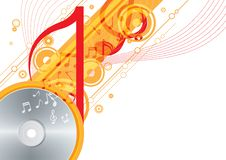Free Music Background Royalty Free Stock Photo - 25796775