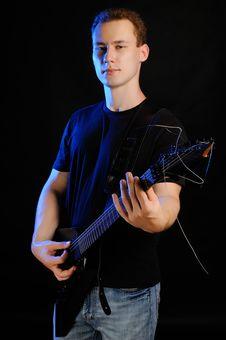 Free Guitarist Stock Photo - 25797170