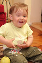 Free Little Blond Baby Boy Stock Image - 2582301