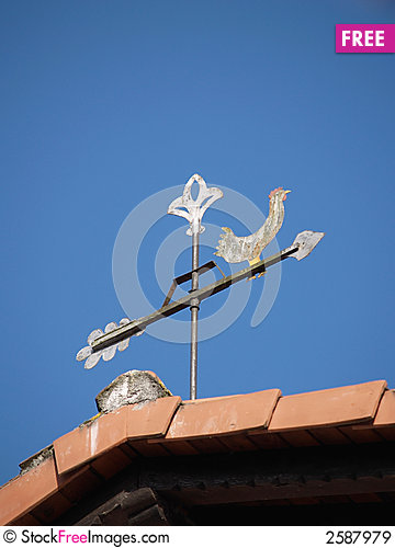 Free Weather Vane Royalty Free Stock Images - 2587979