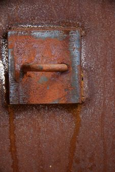 Rusty Building Detail Stock Image