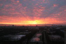 Free Moscow Sunrise Stock Photos - 2580553