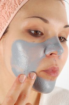 Beauty Mask 33 Royalty Free Stock Photography