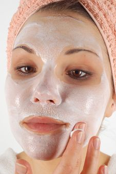 Free Beauty Mask Royalty Free Stock Photos - 2580928