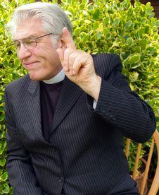 Free Vicar Royalty Free Stock Photo - 2581925