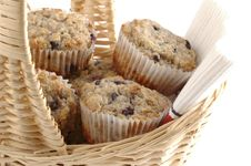 Fresh Muffins Stock Photo