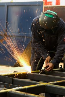 Free Welder Royalty Free Stock Photography - 2583517