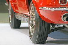 Free Sports Car Wheels Royalty Free Stock Photo - 2584335