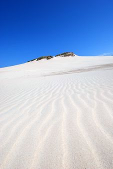 Free Sand Dunes On The Desert Royalty Free Stock Image - 2586576