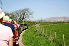 Free Narrow Gauge Passenger Train Stock Photo - 2586810