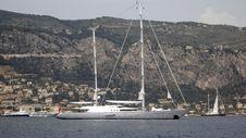 Free White Sail Yacht Stock Photo - 2587510