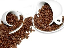 Free Scatter Coffee Stock Image - 2587621