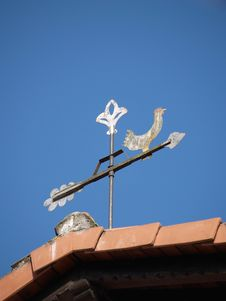Weather Vane Royalty Free Stock Images