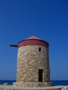 Free Windmill Stock Photography - 2588982
