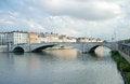 Free Bonaparte Bridge, Saone River, Lyon, France Stock Photos - 25802873