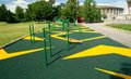 Free Sports Gymnastic Ground On The Street Royalty Free Stock Image - 25804196
