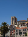 Free Lisbon Cathedral Towers Stock Photos - 25805293