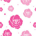 Free Seamless Roses Pattern Royalty Free Stock Photography - 25808647